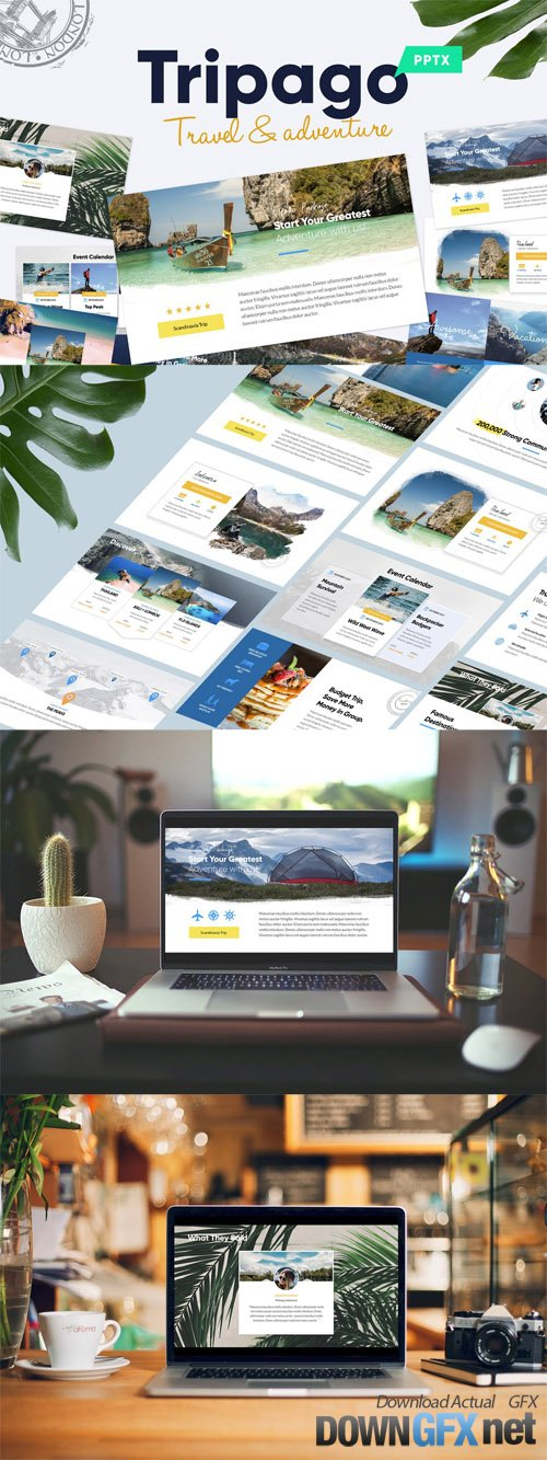 TRIPAGO - Travel Business Powerpoint Template