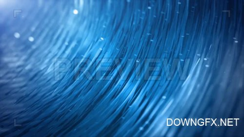 Abstract Blue Background Motion Graphic