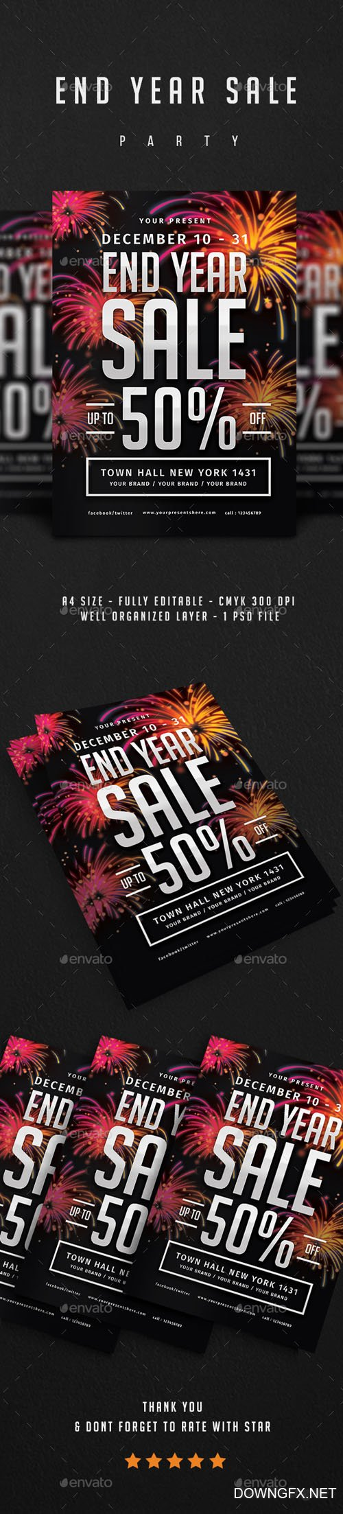 End Year Sale Flyer 21070468