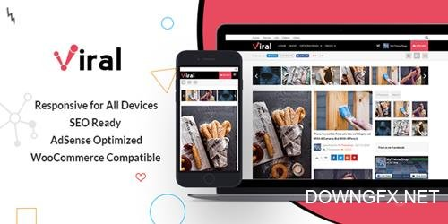 MyThemeShop - Viral v1.0.4 - WordPress Theme For Social Media Marketers