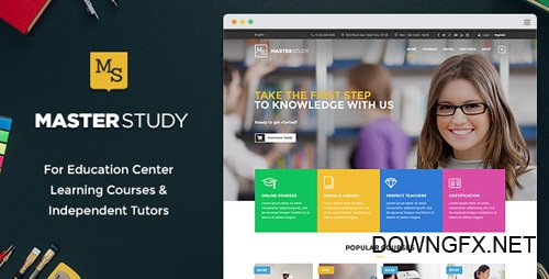 ThemeForest - Masterstudy v1.9 - Education WordPress Theme for Learning, Training and Education Center - 12170274 - NULLED