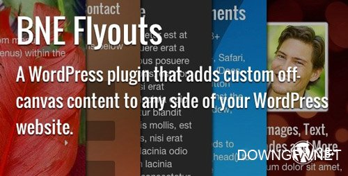 CodeCanyon - Flyouts v1.3.8 - Off Canvas Custom Content for WordPress - 7837448