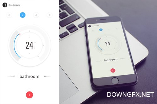 Thermostat UI Kit