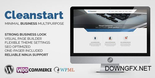 ThemeForest - CLEANSTART v1.5.5 - Business - Multipurpose Business Theme - 8981419