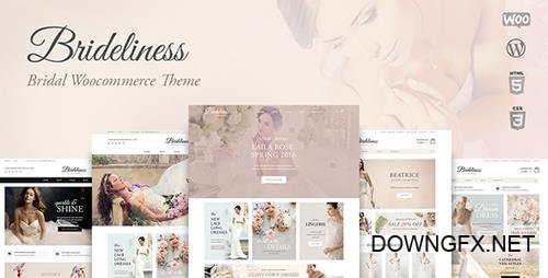 ThemeForest - Brideliness v1.0.12 - Wedding Shop WordPress WooCommerce Theme - 19535925