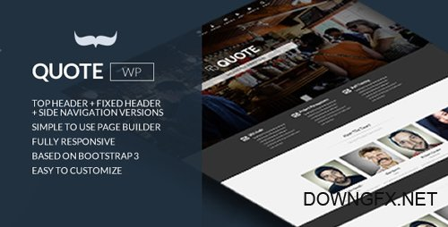 ThemeForest - Quote v1.2 - Responsive Multi Purpose Theme - 8645997