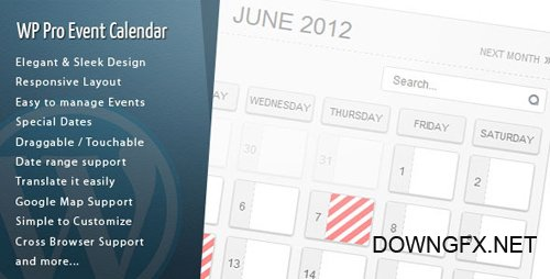 CodeCanyon - Wordpress Pro Event Calendar v3.0.1 - 2485867