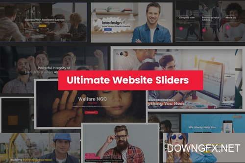 Ultimate Website Sliders Design For any Business