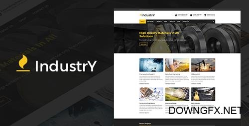 ThemeForest - Industry v2.8 - Factory Company And Industry WP Theme - 14982305