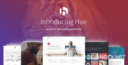 ThemeForest - Hue v1.5 - A Mighty, Massive & Modern All-Encompassing Multipurpose Theme - 16698638