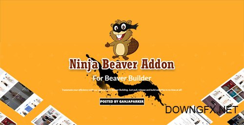 Ninja Beaver Addon v1.1.8 - Add-On For Beaver Builder Plugin
