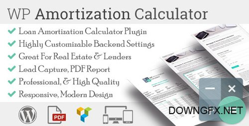CodeCanyon - WP Amortization Calculator v1.1.11 - 13004942