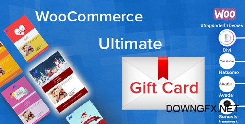 CodeCanyon - WooCommerce Ultimate Gift Card v2.4.1 - 19191057