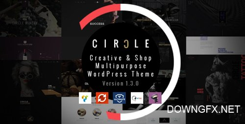 ThemeForest - CIRCLE v1.3.3 - Creative & Shop Multipurpose WordPress Theme - 18040907