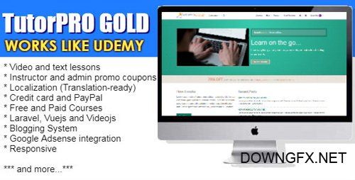 CodeCanyon - TutorPro GOLD Edition v1.2 - 20480075