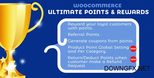 CodeCanyon - WooCommerce Ultimate Points And Rewards v1.3.3 - 19814756