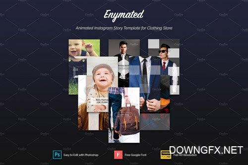 Enymated - Animated Instagram Story - CM 2183500