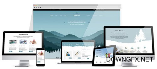 HotJoomlaTemplates - HOT SnowFlake - Joomla Template (Update: 11 October 17)