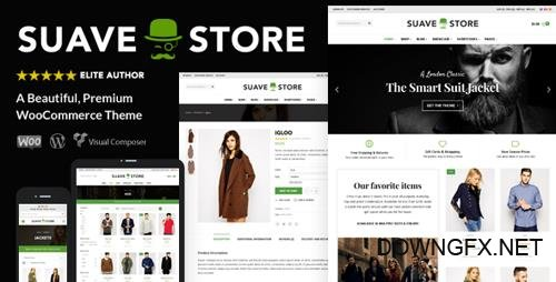 ThemeForest - Suave v1.8.6 - Multi-Purpose WooCommerce Theme - 10409867