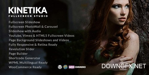 ThemeForest - Kinetika v3.3 - Fullscreen Photography Theme - 12162415