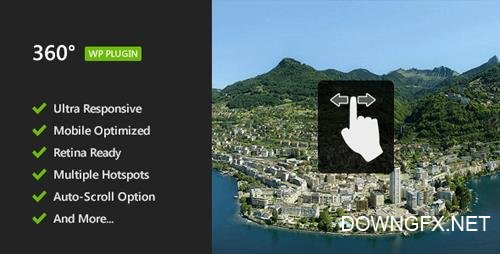 CodeCanyon - 360 Panoramic Image Viewer v1.3 - Responsive WordPress Plugin - 5054590