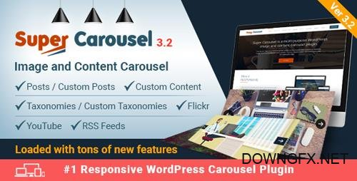 CodeCanyon - Super Carousel v3.2 - Responsive Wordpress Plugin - 4505016