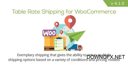 CodeCanyon - Table Rate Shipping for WooCommerce v4.1.0 - 3796656