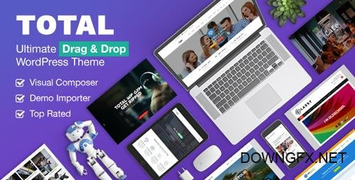 ThemeForest - Total v4.5.4.2 - Responsive Multi-Purpose WordPress Theme - 6339019