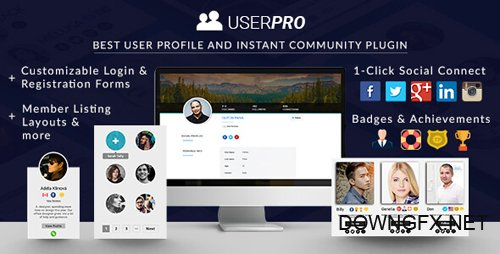 CodeCanyon - UserPro v4.9.18.2 - User Profiles with Social Login - 5958681 - NULLED