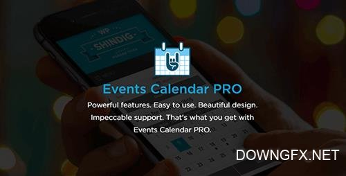 Events Calendar Pro v4.4.21 - WordPress Plugin