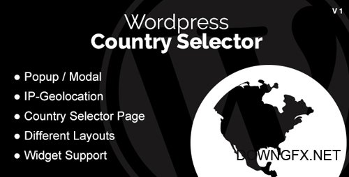 CodeCanyon - Wordpress Country Selector v1.2.8 - 15846619