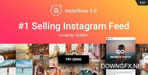 CodeCanyon - Instagram Feed v3.0.1 - WordPress Instagram Gallery - 13004086