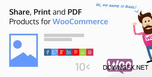 CodeCanyon - Share, Print and PDF Products for WooCommerce v1.4.2 - 13127221