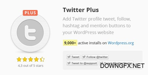 CodeCanyon - Twitter Plus v2.57 - 16852014