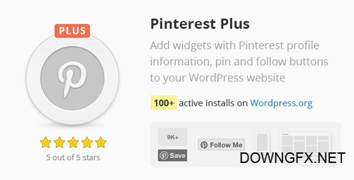 CodeCanyon - Pinterest Plus v1.0.7 - 16851978