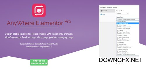 AnyWhere Elementor Pro v2.5 - Add-On For Elementor Pro