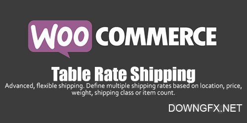 WooCommerce - Table Rate Shipping v3.0.6