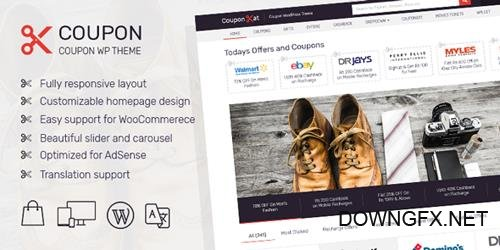 MyThemeShop - Coupon v1.2.15 - Best WordPress Coupon Theme You Always Wanted To Earn More