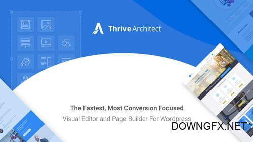 ThriveThemes - Thrive Architect v2.0.19 - Fastest Visual Editor for WordPress - NULLED