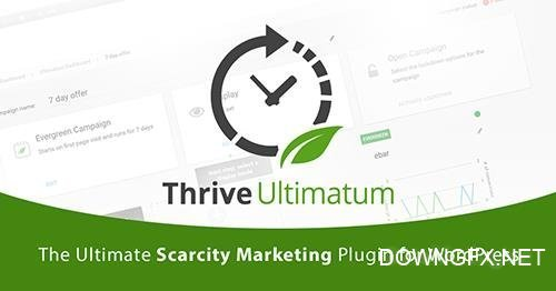 ThriveThemes - Thrive Ultimatum v2.0.19 - WordPress Plugin - NULLED