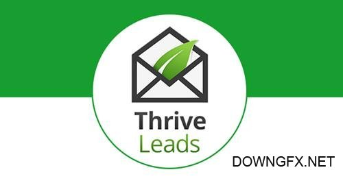 ThriveThemes - Thrive Leads v2.0.20 - Builds Your Mailing List Faster - NULLED