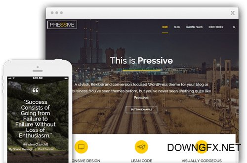 ThriveThemes - Pressive v1.300.07 - WordPress Theme - NULLED
