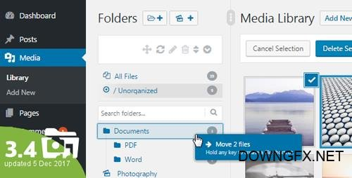CodeCanyon - WordPress Real Media Library v3.4.3 - Media Categories / Folders File Manager - 13155134
