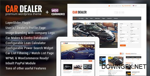 ThemeForest - Car Dealer v1.4.4 - Automotive WordPress Theme - Responsive - 8574708