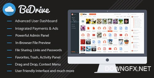 CodeCanyon - BeDrive v1.9.2 - File Sharing and Cloud Storage - 12700384