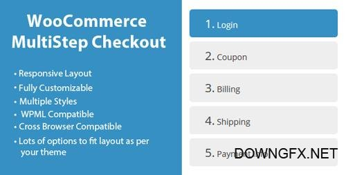 CodeCanyon - WooCommerce MultiStep Checkout Wizard v2.7.3 - 8125187