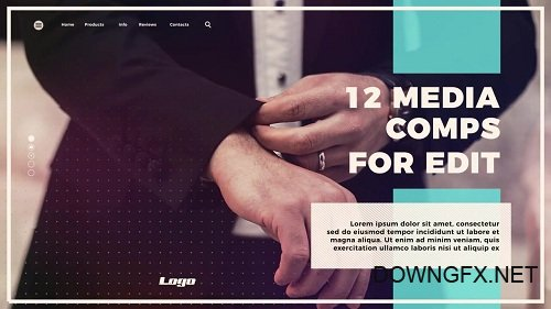 Dynamic Business Opener 55910 - After Effects Templates