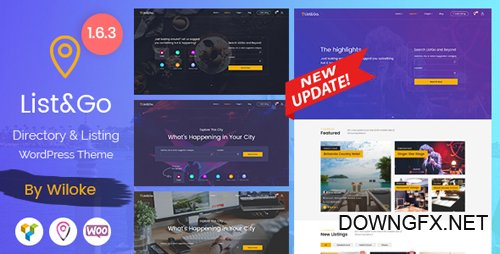 ThemeForest - ListGo v1.6.3 - Directory WordPress Theme - 20254260