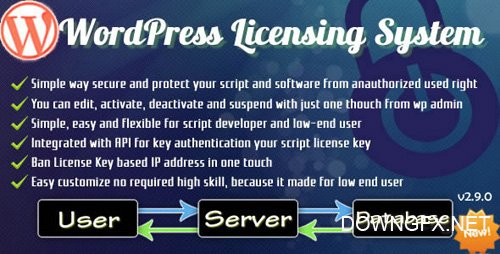 CodeCanyon - Wordpress Licensing System Basic v2.9.9.6 - 3720528