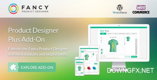 CodeCanyon - Fancy Product Designer Plus Add-On v1.1.5 - WooCommerce/WordPress - 17976317